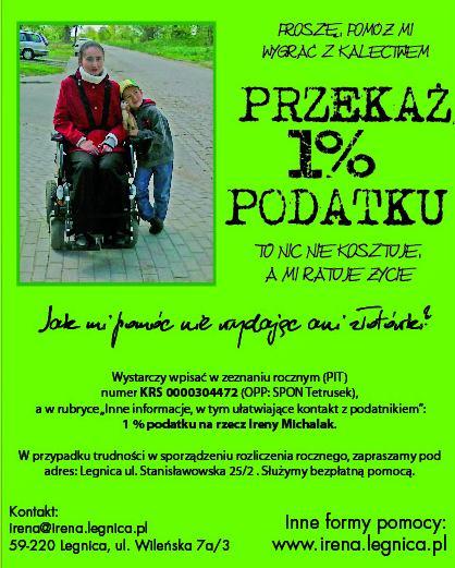 ulotka_2012IrenaMichalak1